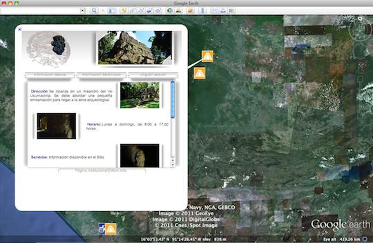 Aprovecha INAH Google Earth para difundir el patrimonio cultural del país