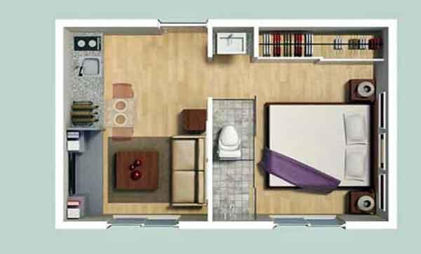 La Crónica de Hoy | Construirán mini-departamentos de 25 m2