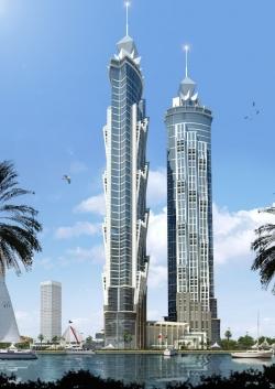 JW Marriott construye el hotel más alto del mundo