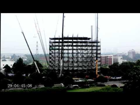 Los chinos construyen un rascacielos 'prefabricado' en 15 días – Mundo – Noticias, última hora, vídeos y fotos de Mundo en lainformacion.com