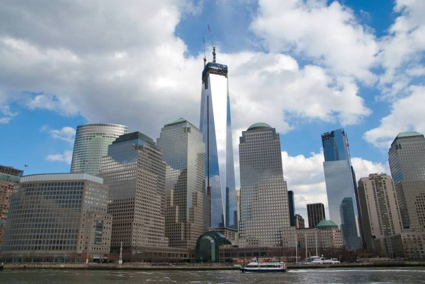 One World Trade Center Nears Completion 12