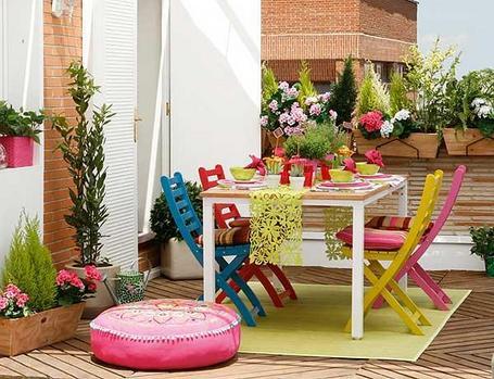 5 ideas para terrazas peque as gerencia red blog - Mesas para terrazas pequenas ...