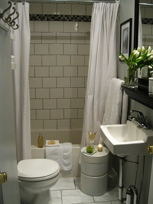 Baño Pequeno Dimensiones:Small Bathroom Design Ideas
