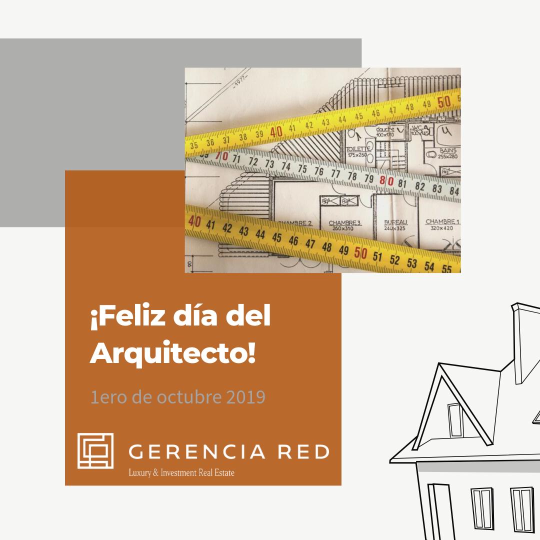 ¡Feliz día del Arquitecto!